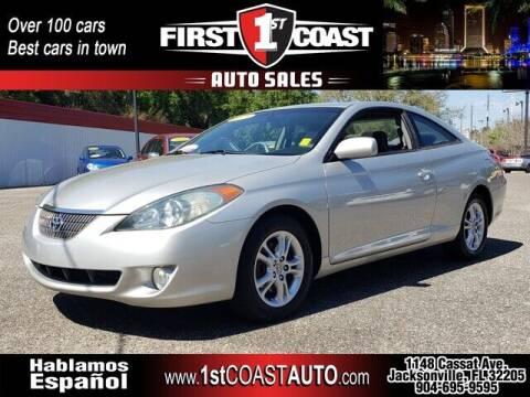 2005 Toyota Camry Solara for sale at 1st Coast Auto -Cassat Avenue in Jacksonville FL