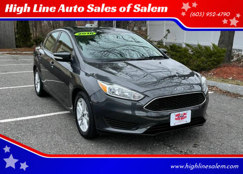 2016 Ford Focus for sale at High Line Auto Sales of Salem in Salem NH