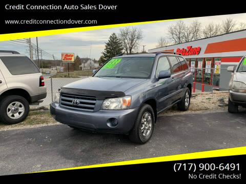 2004 Toyota Highlander for sale at Credit Connection Auto Sales Dover in Dover PA