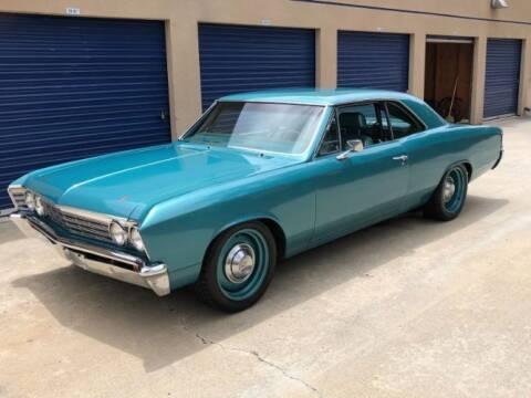 1967 Chevrolet Malibu for sale at Classic Car Deals in Cadillac MI