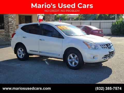 2012 Nissan Rogue for sale at Mario's Used Cars - Pasadena Location in Pasadena TX