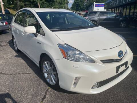 2013 Toyota Prius v for sale at Premier Automart in Milford MA