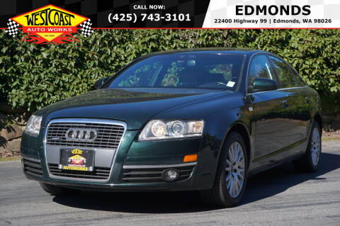 2006 Audi A6 for sale at West Coast Auto Works in Edmonds WA