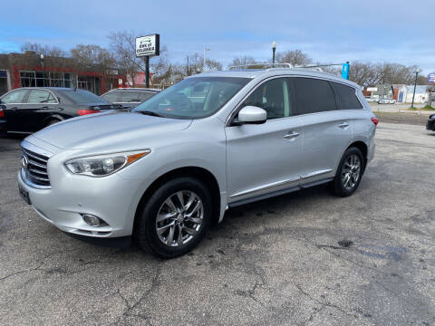 2013 Infiniti JX35 for sale at BWK of Columbia in Columbia SC