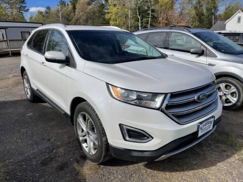 2015 Ford Edge for sale at Al's Auto Inc. in Bruce Crossing MI