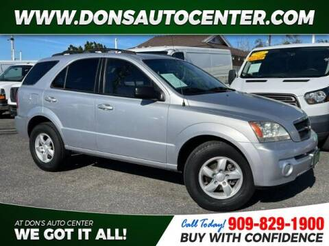 2006 Kia Sorento for sale at Dons Auto Center in Fontana CA