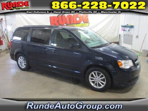2015 Dodge Grand Caravan for sale at Runde Chevrolet in East Dubuque IL