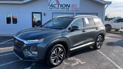 2019 Hyundai Santa Fe for sale at Action Motor Sales in Gaylord MI