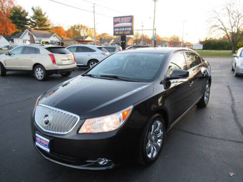 2011 Buick LaCrosse for sale at Lake County Auto Sales in Painesville OH