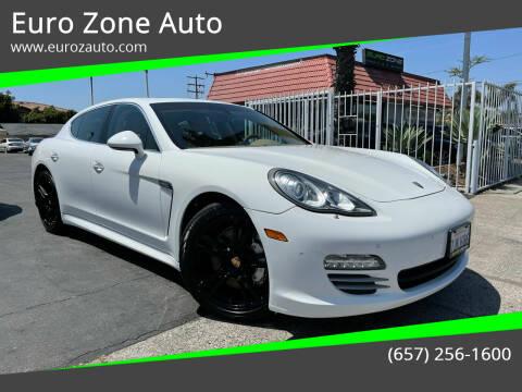 2011 Porsche Panamera for sale at Euro Zone Auto in Stanton CA