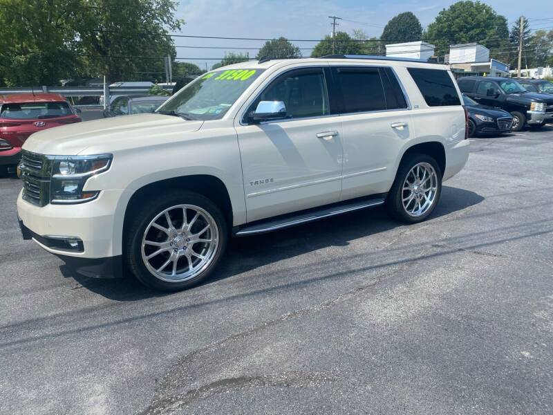 2015 Chevrolet Tahoe for sale at Ginters Auto Sales in Camp Hill PA