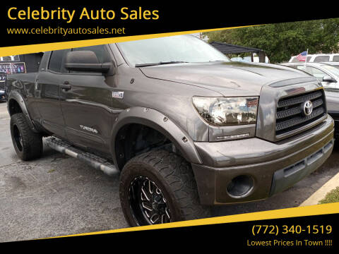2007 Toyota Tundra for sale at Celebrity Auto Sales in Port Saint Lucie FL