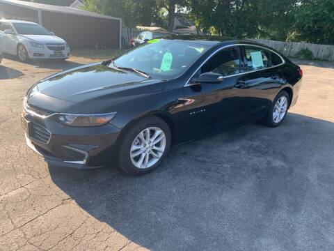 2018 Chevrolet Malibu for sale at PAPERLAND MOTORS in Green Bay WI