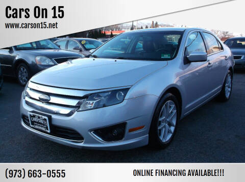 2010 Ford Fusion for sale at Cars On 15 in Lake Hopatcong NJ