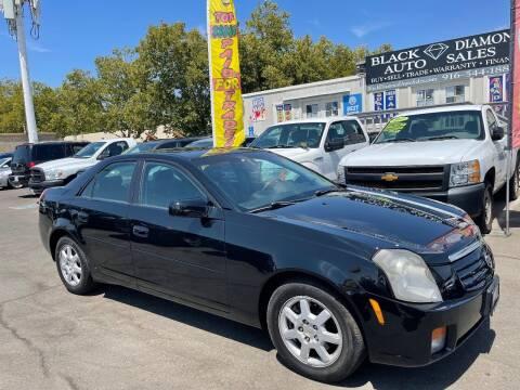 2007 Cadillac CTS for sale at Black Diamond Auto Sales Inc. in Rancho Cordova CA