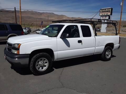 2007 Chevrolet Silverado 1500 Classic for sale at Super Sport Motors LLC in Carson City NV