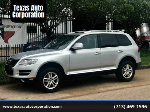 2008 Volkswagen Touareg 2 for sale at Texas Auto Corporation in Houston TX
