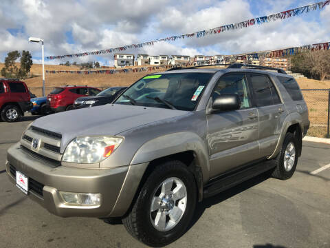 2004 Toyota 4Runner for sale at Autos Wholesale in Hayward CA