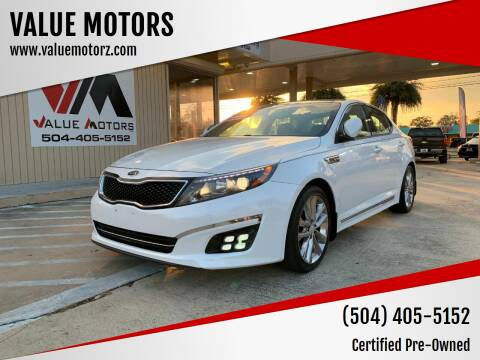 2014 Kia Optima for sale at VALUE MOTORS in Kenner LA