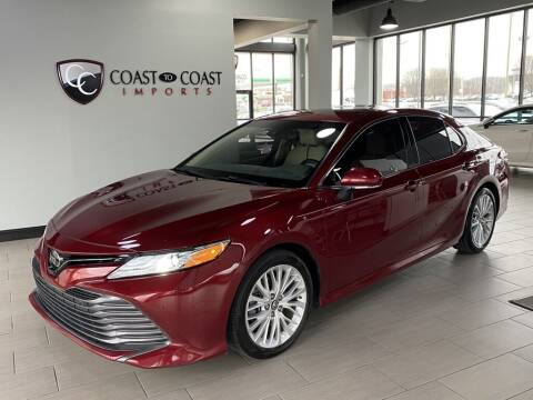2018 Toyota Camry for sale at Coast to Coast Imports in Fishers IN