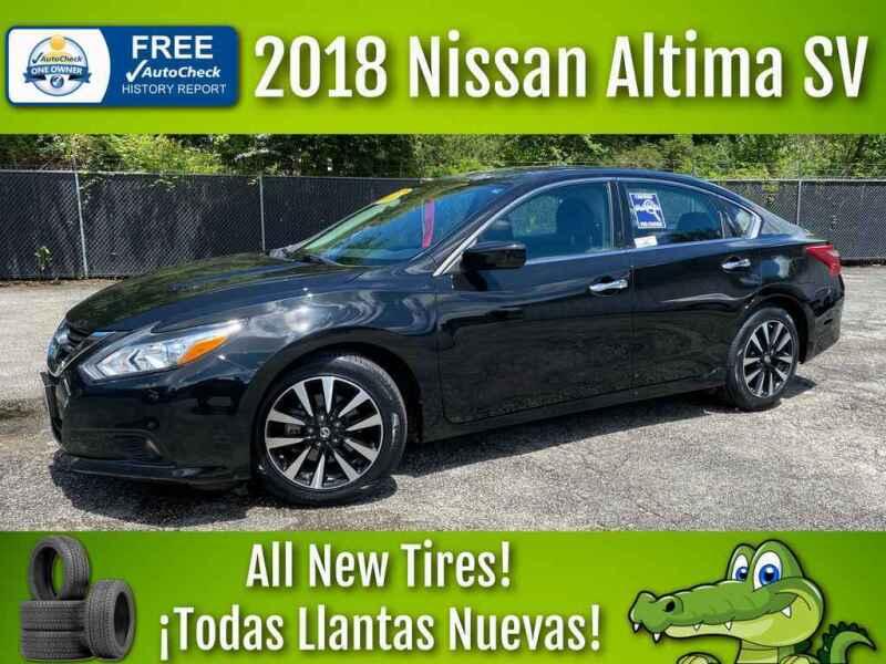 2018 Nissan Altima for sale at LIQUIDATORS in Houston TX