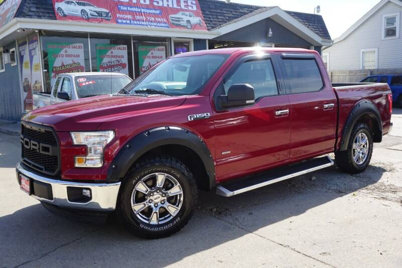 2015 Ford F-150 for sale at Cass Auto Sales Inc in Joliet IL