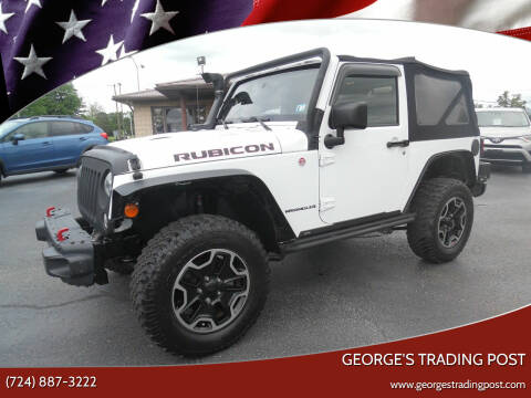 2014 Jeep Wrangler for sale at GEORGE'S TRADING POST in Scottdale PA