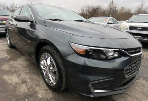 2018 Chevrolet Malibu for sale at Rayyan Auto Sales LLC in Lexington KY