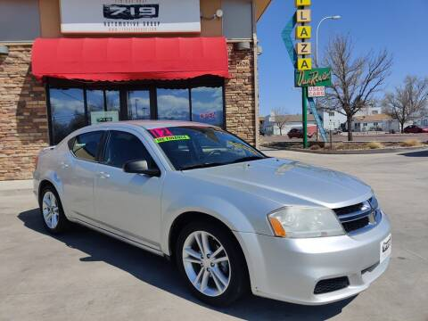 2012 Dodge Avenger for sale at 719 Automotive Group in Colorado Springs CO