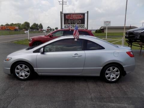 2010 Honda Civic for sale at MYLENBUSCH AUTO SOURCE in O` Fallon MO