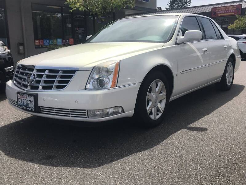 2006 Cadillac DTS for sale at GO AUTO BROKERS in Bellevue WA