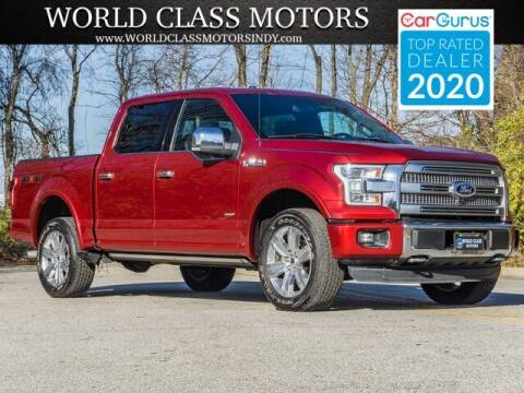 2015 Ford F-150 for sale at World Class Motors LLC in Noblesville IN