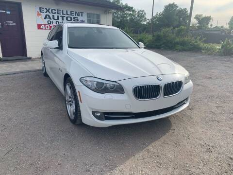 2011 BMW 5 Series for sale at Excellent Autos of Orlando in Orlando FL