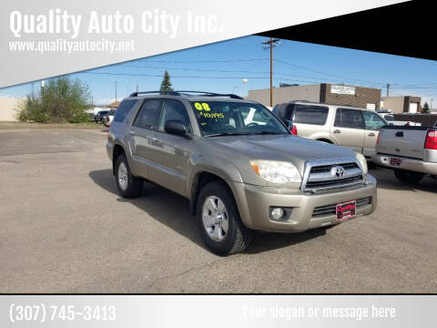 2008 Toyota 4Runner for sale at Quality Auto City Inc. in Laramie WY
