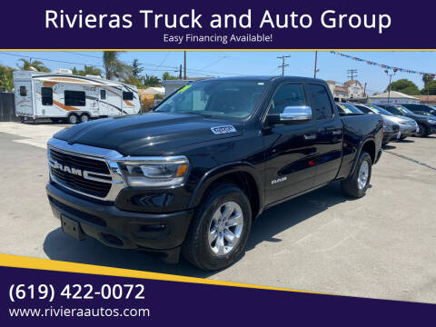 2020 RAM Ram Pickup 1500 for sale at Rivieras Truck and Auto Group in Chula Vista CA