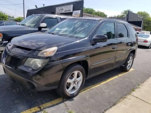 2004 Pontiac Aztek for sale at DALE'S AUTO INC in Mt Clemens MI