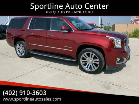 2020 GMC Yukon XL for sale at Sportline Auto Center in Columbus NE