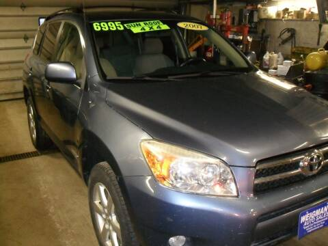 2007 Toyota RAV4 for sale at Weigman's Auto Sales in Milwaukee WI