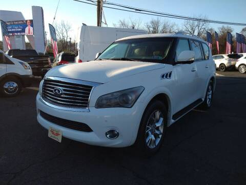 2011 Infiniti QX56 for sale at P J McCafferty Inc in Langhorne PA