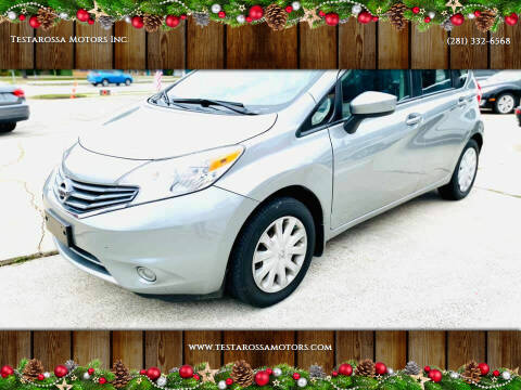 2015 Nissan Versa Note for sale at Testarossa Motors Inc. in League City TX
