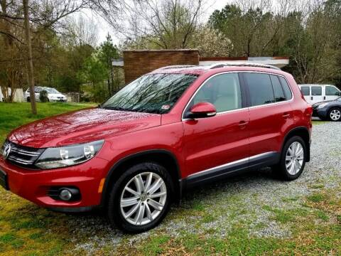 2015 Volkswagen Tiguan for sale at Progress Auto Sales in Durham NC