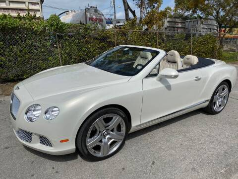 2014 Bentley Continental for sale at Prestigious Euro Cars in Fort Lauderdale FL