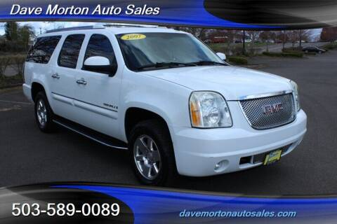 2007 GMC Yukon XL for sale at Dave Morton Auto Sales in Salem OR