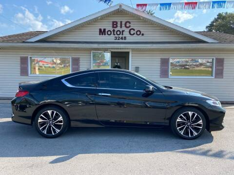 2016 Honda Accord for sale at Bic Motors in Jackson MO