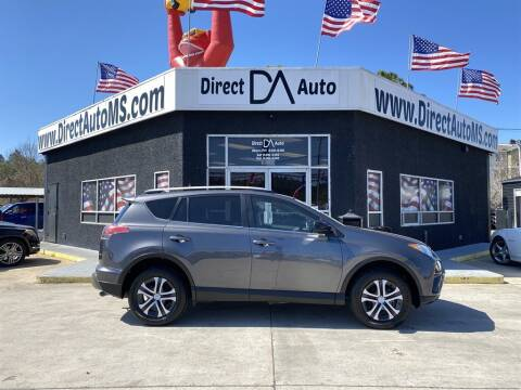 2017 Toyota RAV4 for sale at Direct Auto in D'Iberville MS