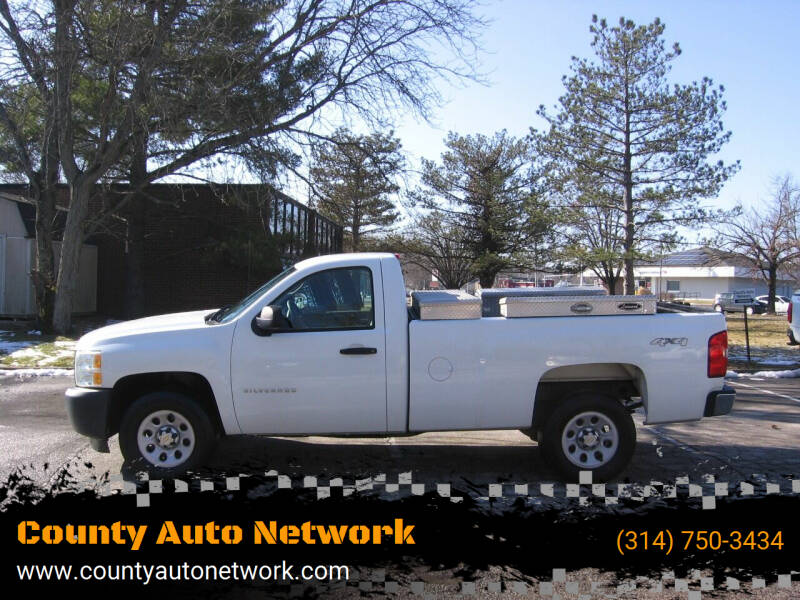 2013 Chevrolet Silverado 1500 for sale at County Auto Network in Ballwin MO