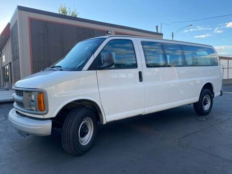 2001 Chevrolet Express Passenger for sale at Exelon Auto Sales in Auburn WA
