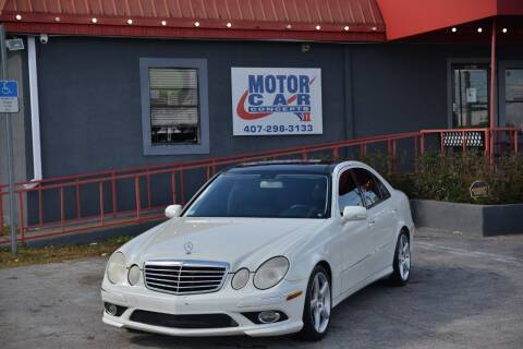 2008 Mercedes-Benz E-Class for sale at Motor Car Concepts II - Kirkman Location in Orlando FL