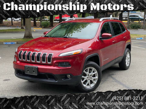 2018 Jeep Compass for sale at Championship Motors in Redmond WA