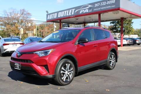 2018 Toyota RAV4 for sale at Deals N Wheels 306 in Burlington NJ